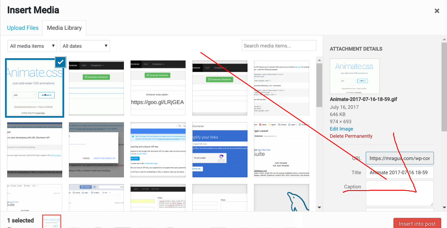 Cara Memasang animation GIF di WordPress