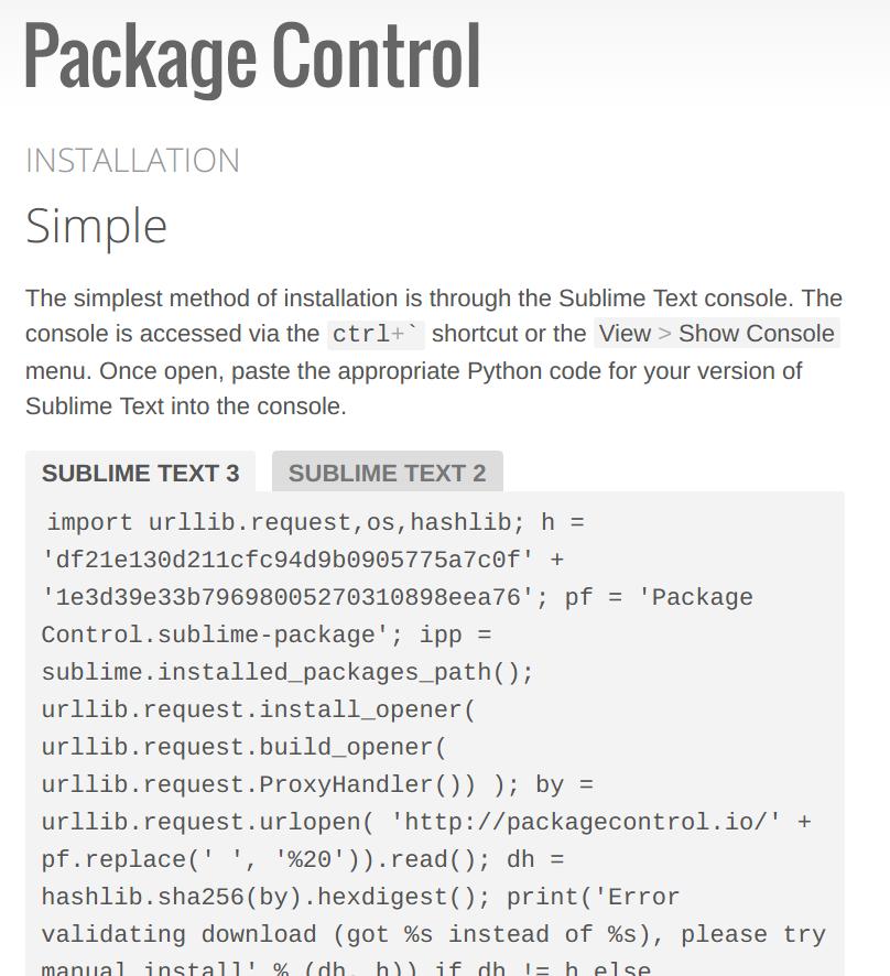 Optimalisasi dan Tips Untuk Sublime Text