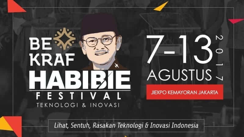 Serunya BEKRAF Habibie Festival 2017